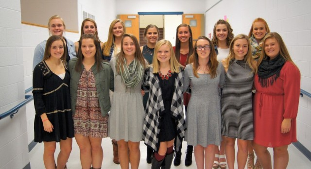 Girls' Soccer: MVL Scholar Athletes