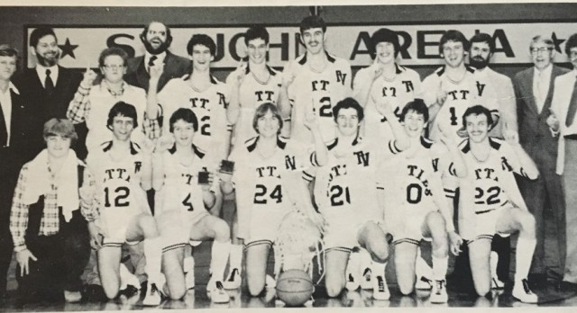 1980-1981 Boys State Semi- Finalists Inducted into Athletic Hall of Fame