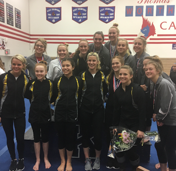 Gymnastics Qualifies for State