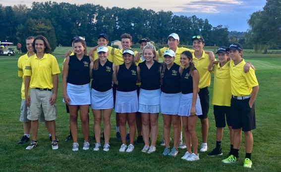 Golf Teams Have Senior Night