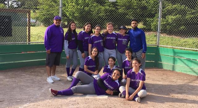 KIPP San Jose Collegiate Varsity Softball beat Alma Heights Christian High School 27-6