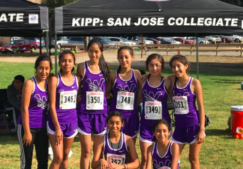 Girls Cross Country Finishes 7th in CCS Division 5, Setting New School Record