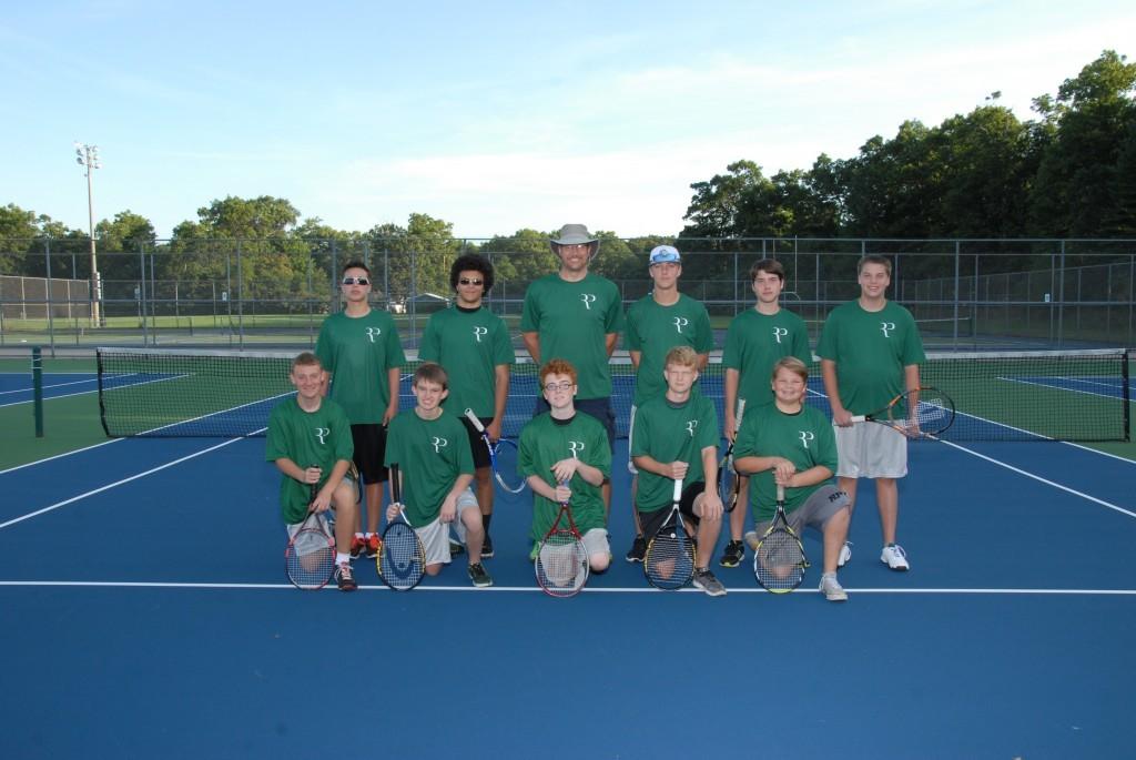 16-17 Boys JV Tennis