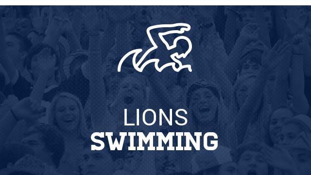 Emily VanderWeele Represents Lions Swim Team at TISCA Meet