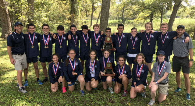 Cross Country Boys Win District, Girls Runners-Up