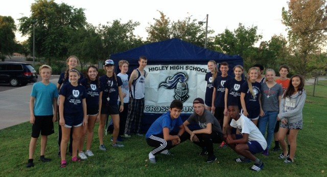 Higley Cross Country Team brings home some medals!
