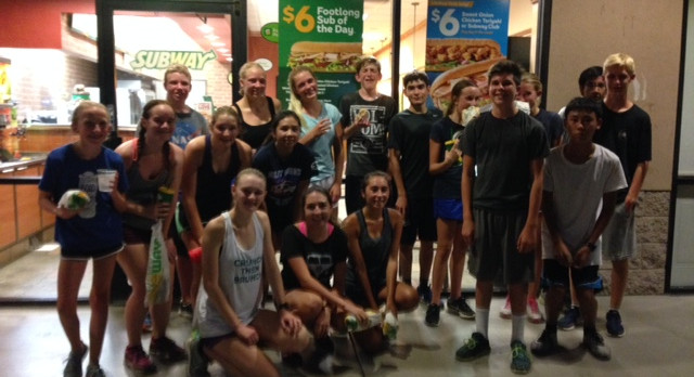Thank you SUBWAY for supporting Higley Cross Country!