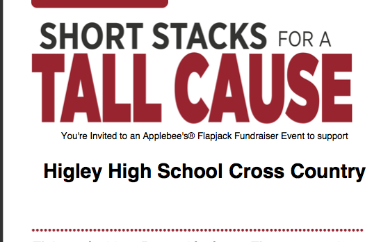 Higley Cross Country Updates and SAVE the date for PANCAKE breakfast!! Yum!