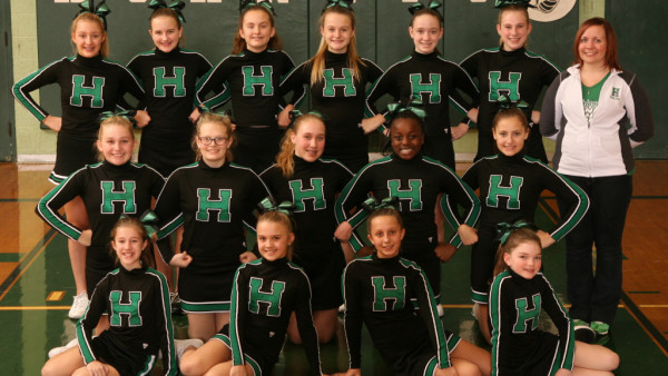 7th and 8th grade Cheer