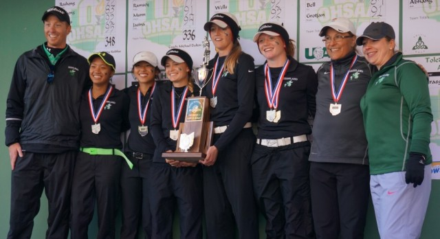 Golfers Capture 2nd Place at State