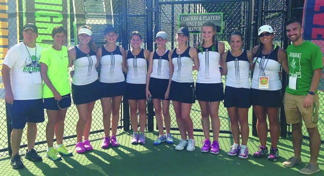Tennis Team Captures League Title!