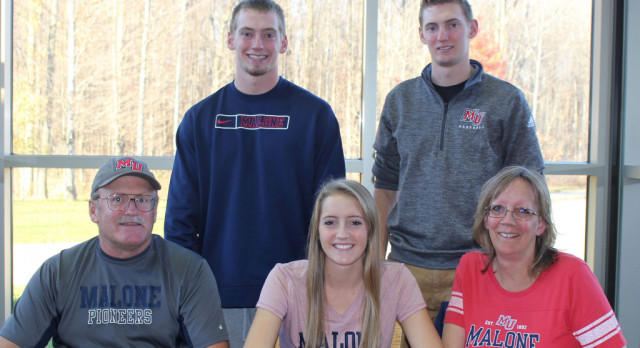 Williams Commits to Malone U.