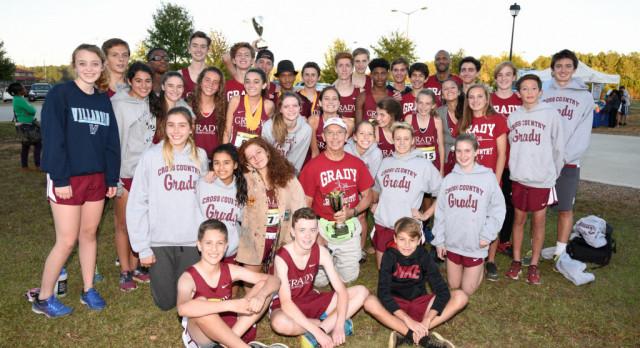 Grady Cross Country Sweeps Region Meet!