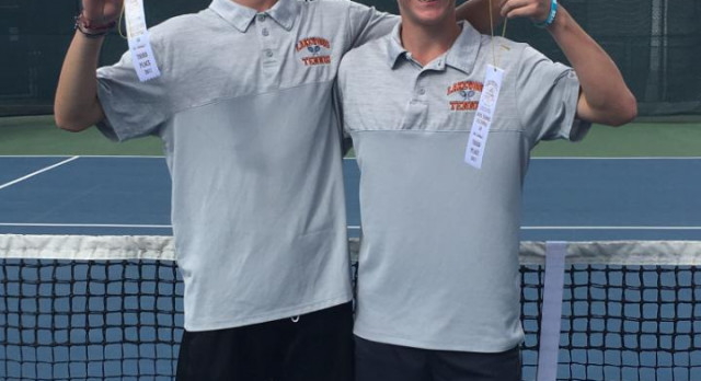 Boys Tennis at Regional–Henry McKinney and Clayton Guevara to State!!