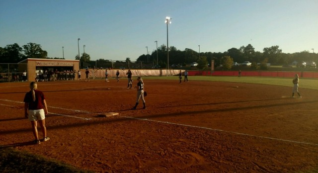 Softball Splits in First Round of State Playoffs