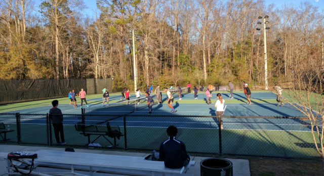 """The SHS Tennis Teams have """"Unfinished Business"""""""