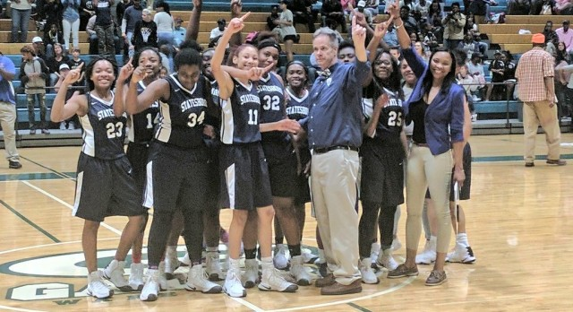 Basketball Sweeps Region Championships