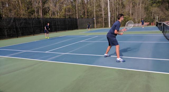 Boys Tennis Picks Up Second Region Win