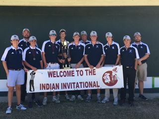 Boys Golf Wins First Two-Day Tournament