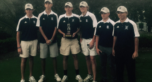 SHS Boys Golf Wins 3rd Straight Tournament