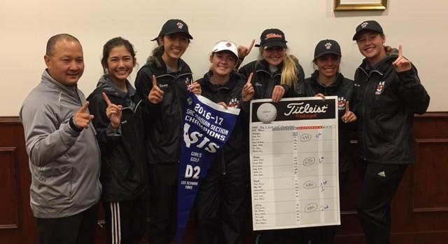 Girls Golf – CIFSJS Section Champs
