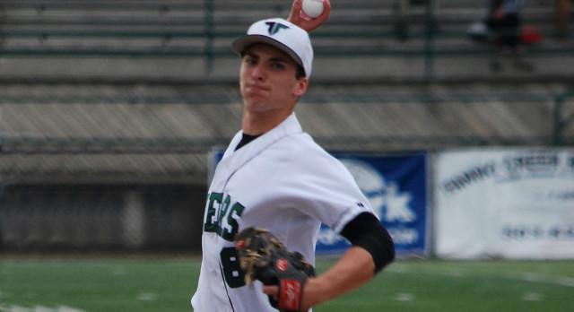 Tigard High School Varsity Baseball beat Lakeridge High School 5-0