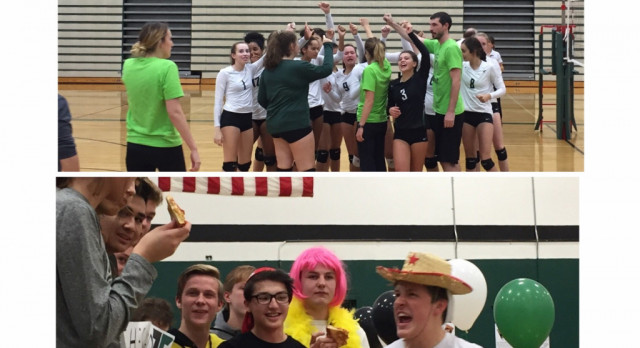 Volleyball beats Tualatin