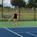 Elms Varsity Tennis vs. CCC 8.18.17