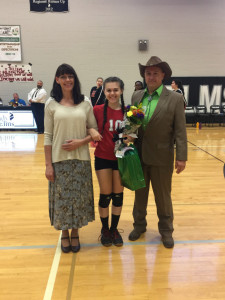 vball senior night1