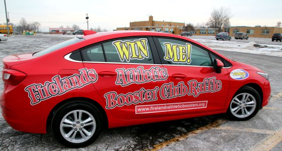 Win a 2017 Chevy Cruise