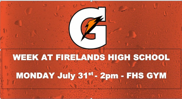 Gatorade to Host G-Day at FHS
