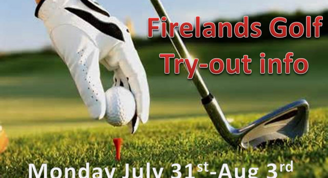 Golf Try-out Information