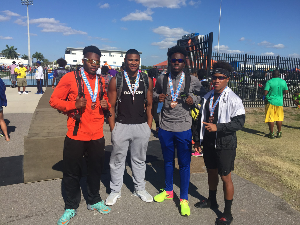 4x100 Relay after Race #2