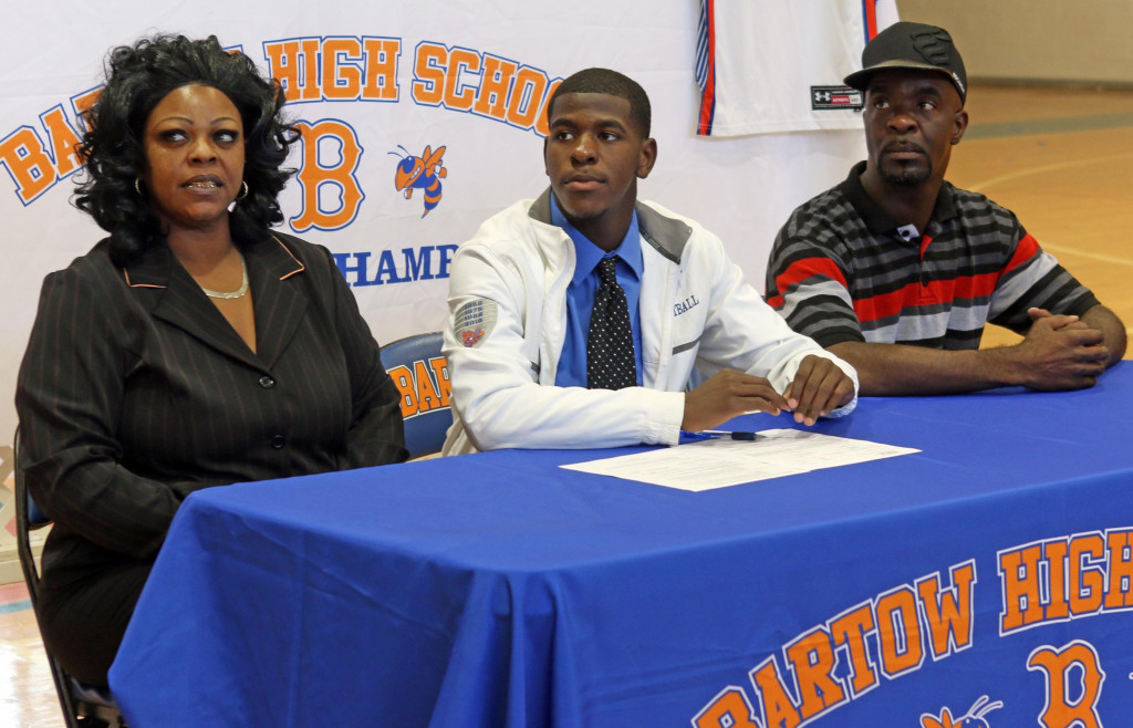 TJ Harvin Signing Day#1