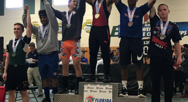 Boys Weightlifting State Meet Results