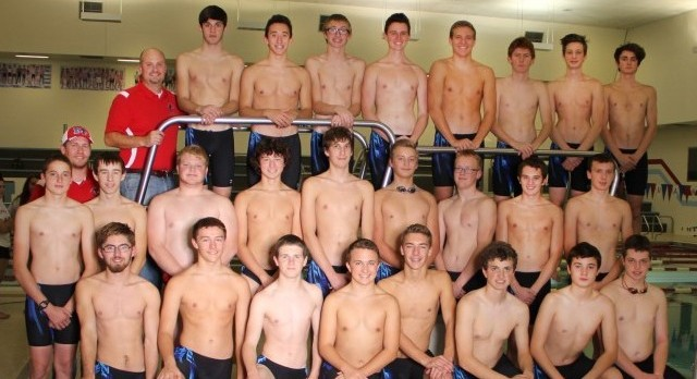 2015-16 TRC Boys Swimming & Diving Champs!