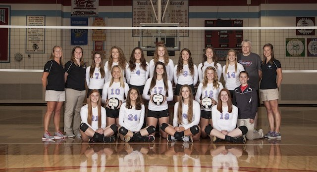 2016-17 Volleyball TRC Champs!