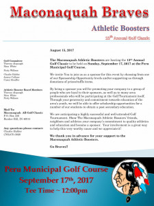 Maconaquah Braves Athletic Boosters  11th Annual Golf Outing