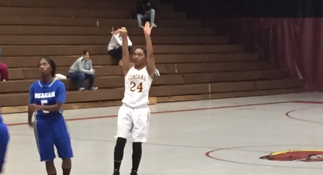 West Allis Central High School Girls Varsity Basketball beat Milwaukee Ronald W. Reagan College Prep 65-39