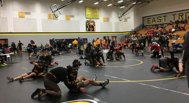 West Allis Central High School Varsity Wrestling finishes 7th place