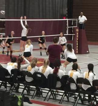 West Allis Central Girls Varsity Volleyball beat Cudahy