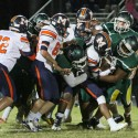 Clover Hill Varsity Football vs Manchester 2016