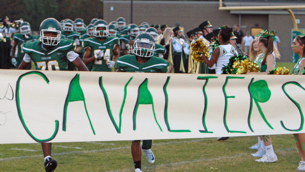 Clover Hill Varsity Football vs James River 092217 014