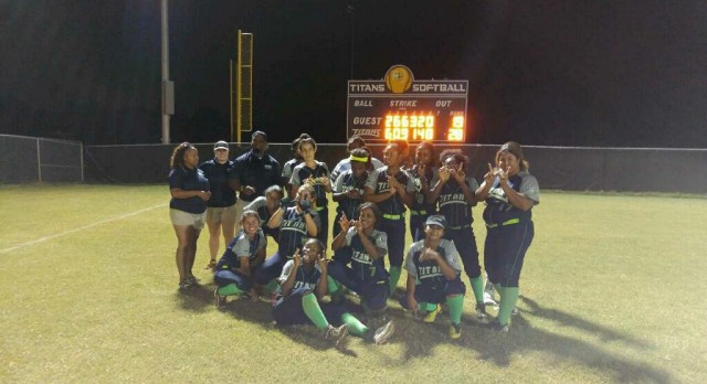 Lady Titans Softball Earns Historic First Victory