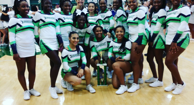 Discovery High School Competition Squad finishes 1st place