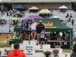 Lady Cat Track Team Earns State Runner-Up