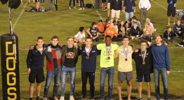 Bobcat Boy's Cross Country Wins Region Championship