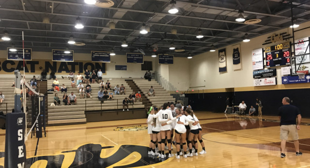 Lady Cats Volleyball face off with West-Oak