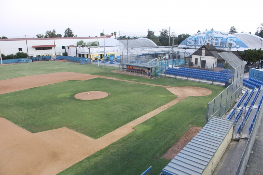 SM Baseball field