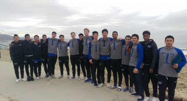 San Marino High School Boys Varsity Basketball falls to West Torrance High School 60-58